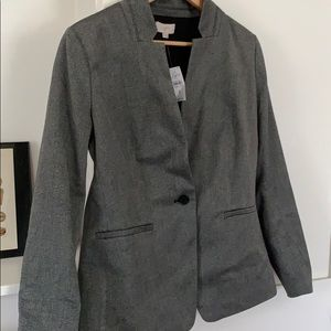 Loft grey blazer- lightweight & work appropriate